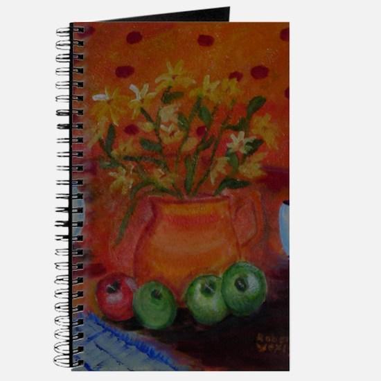 October Kitchen Scene Journal