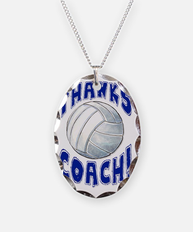 ThxVolleybCoach Necklace