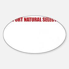 Natural Selection V22 Sticker (Oval)
