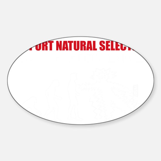 Natural Selection V22 Sticker (Oval)