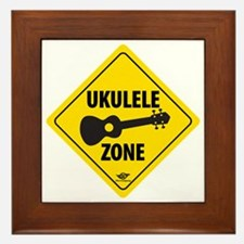 Ukulele Zone Framed Tile