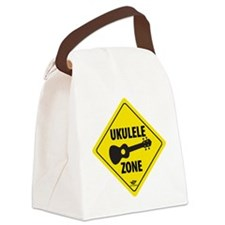 Ukulele Zone Canvas Lunch Bag