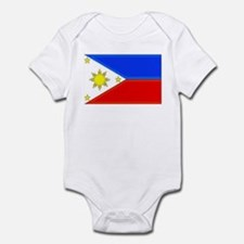 Philippine Flag Infant Bodysuit