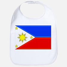 Philippine Flag Bib