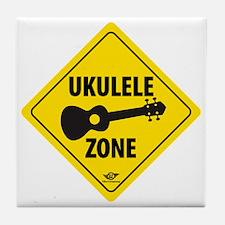 Ukulele Zone Tile Coaster