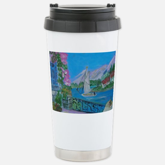 Fantasy Island Stainless Steel Travel Mug
