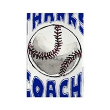 ThxBaseballCoach Rectangle Magnet