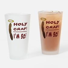 HolyCrap50 Drinking Glass