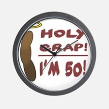 HolyCrap50 Wall Clock