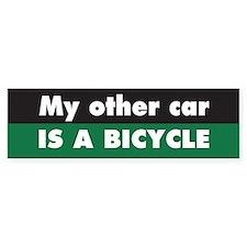 Bicycle Bumper Bumper Sticker