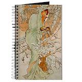 Mucha Journals & Spiral Notebooks