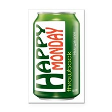 Happy Monday Mountain Dew Can Rectangle Car Magnet
