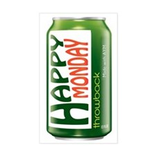 Happy Monday Mountain Dew Can Decal