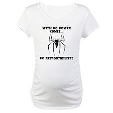 No Responsibility Black Shirt