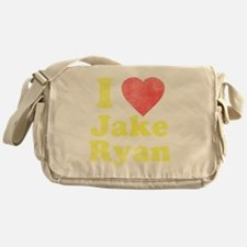 I Love Jake Ryan Messenger Bag