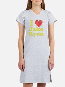 I Love Jake Ryan Women's Nightshirt