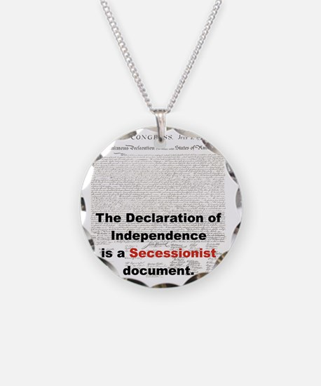 THE DECLARATION OF INDEPENDE Necklace