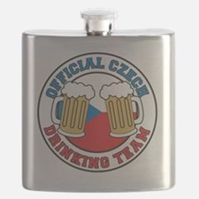 Official Czech Drinking Team Pint Flask