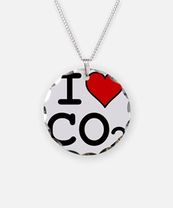 CO2_big_blk Necklace