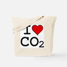CO2_big_blk Tote Bag