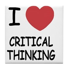 CRITICAL_THINKING Tile Coaster