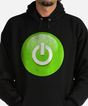Power Green Hoodie (dark)