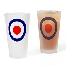 RAF Roundel Blue Drinking Glass