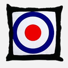 RAF Roundel Blue Throw Pillow
