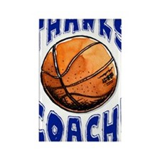 ThxBasketbCoach Rectangle Magnet
