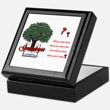 Where You're Going Keepsake Box