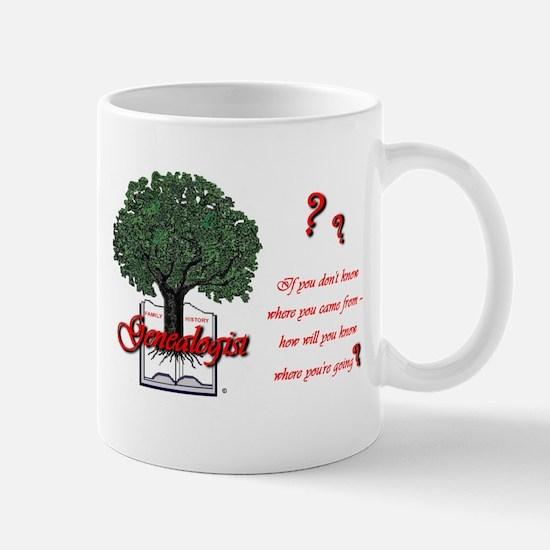 Where You're Going Mug