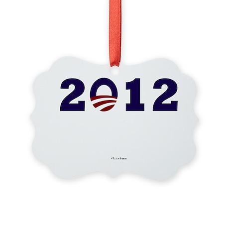 2012 Obama Picture Ornament