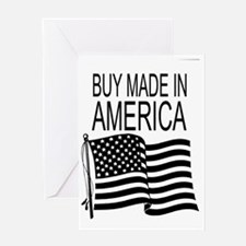 Buy Made In America Greeting Card