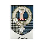 Napier Clan Crest Tartan Rectangle Magnet (10 pack