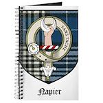 Napier Clan Crest Tartan Journal