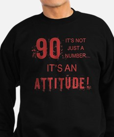 90th Birthday Attitude Jumper Sweater