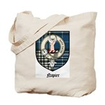 Napier Clan Crest Tartan Tote Bag