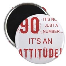 90th Birthday Attitude Magnet