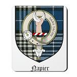 Napier Clan Crest Tartan Mousepad
