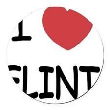 FLINT Round Car Magnet