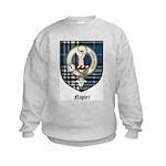 Napier Clan Crest Tartan Kids Sweatshirt