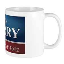 rick perry yard sign Mug