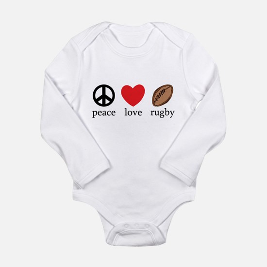 Peace Love Rugby Body Suit
