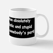 animal house stupid gestured Mug