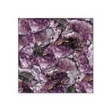 "AMETHYST Square Sticker 3"" x 3"""