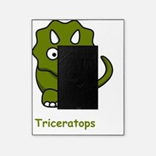 Triceratops Green Picture Frame
