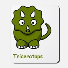 Triceratops Green Mousepad