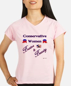Conservative Women Performance Dry T-Shirt