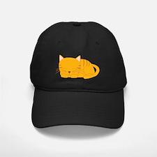 Orange Tabby Cat Baseball Hat