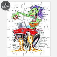 Zombie Girl copysig Puzzle